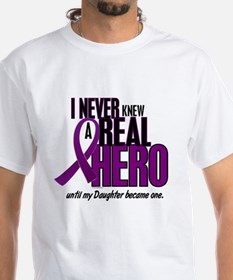 Never Knew A Hero 2 Purple (Daughter) Shirt