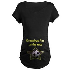 Columbus Fan on the way T-Shirt