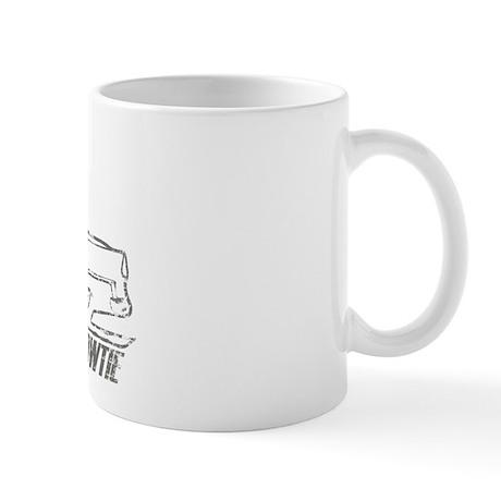 '55 Bowtie Distressed Mug