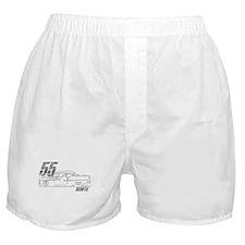 '55 Bowtie Distressed Boxer Shorts