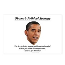 """""""Obama's Strategy"""" Postcards (Package of"""