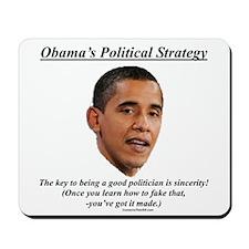 """Obama's Strategy"" Mousepad"