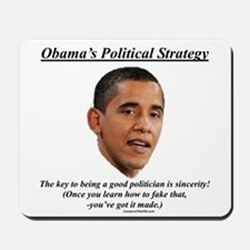 """Obama's Strategy"" Mousepad"