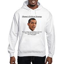 """Obama's Strategy"" Hoodie"