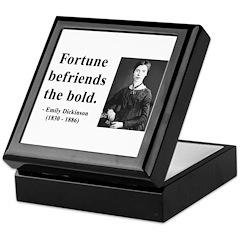 Emily Dickinson 6 Keepsake Box