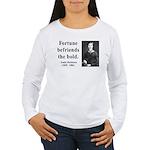 Emily Dickinson 6 Women's Long Sleeve T-Shirt