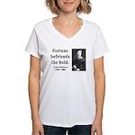 Emily Dickinson 6 Women's V-Neck T-Shirt