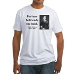 Emily Dickinson 6 Fitted T-Shirt