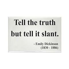 Emily Dickinson 5 Rectangle Magnet (100 pack)