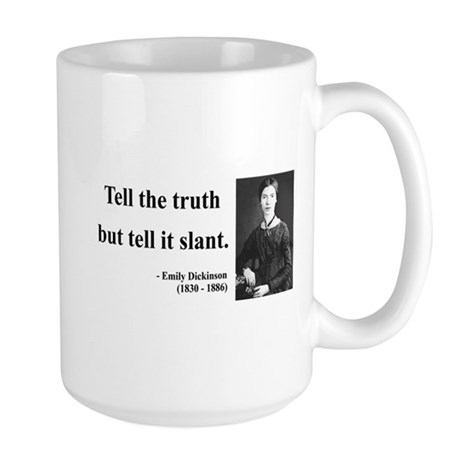 Emily Dickinson 5 Large Mug
