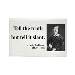 Emily Dickinson 5 Rectangle Magnet