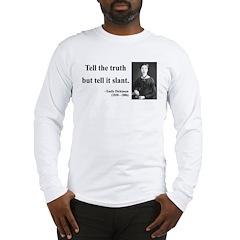 Emily Dickinson 5 Long Sleeve T-Shirt