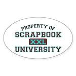 Property Oval Sticker