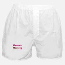 Owen's Mommy Boxer Shorts