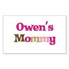 Owen's Mommy Rectangle Decal