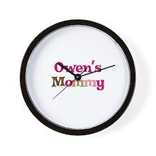 Owen's Mommy Wall Clock