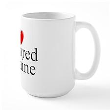 """I Love (Heart) Flavored Cocaine"" Mug"