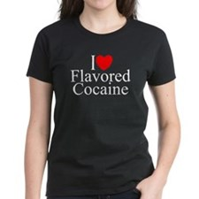 """I Love (Heart) Flavored Cocaine"" Tee"
