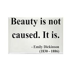 Emily Dickinson 4 Rectangle Magnet (100 pack)