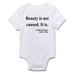 Emily Dickinson 4 Infant Bodysuit