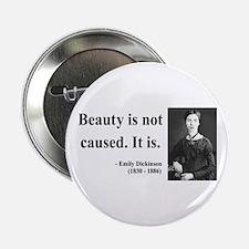 """Emily Dickinson 4 2.25"""" Button"""