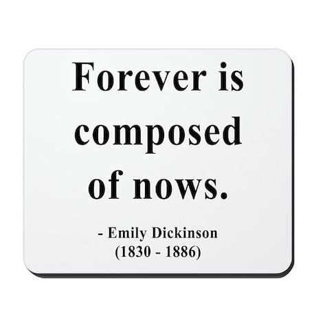 Emily Dickinson 3 Mousepad