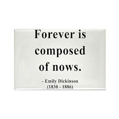 Emily Dickinson 3 Rectangle Magnet (100 pack)