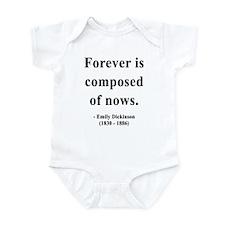 Emily Dickinson 3 Infant Bodysuit