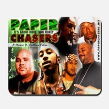 The Paper Chasers Mousepad