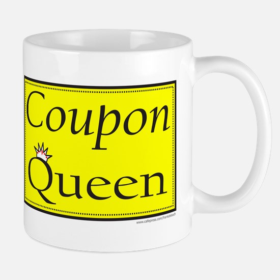 COUPON QUEEN Mug