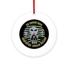 509th Bomb Wing Ornament (Round)
