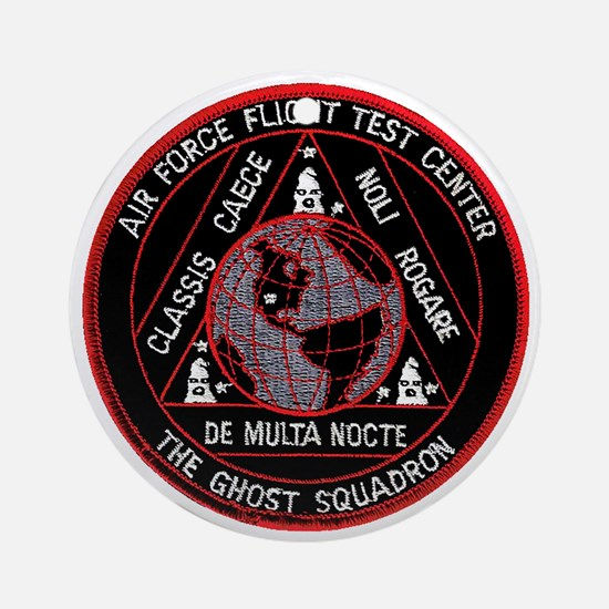 USAF Ghost Squadron Ornament (Round)