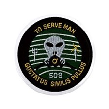 "509th Bomb Wing 3.5"" Button"