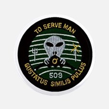 """509th Bomb Wing 3.5"""" Button"""