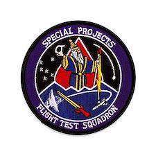 """Flight Test Squadron 3.5"""" Button"""