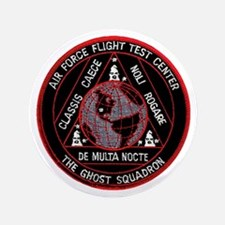 """USAF Ghost Squadron 3.5"""" Button"""