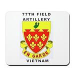 77TH FIELD ARTILLERY VIETNAM Mousepad