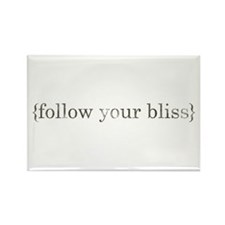 follow your bliss Rectangle Magnet (10 pack)