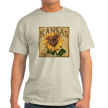Kansas - Sunflower (Aged) Light T-Shirt