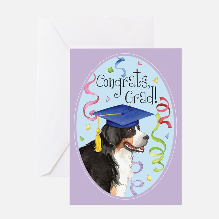 Berner Graduate Greeting Card