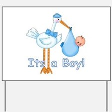It's a Boy! Stork Yard Sign