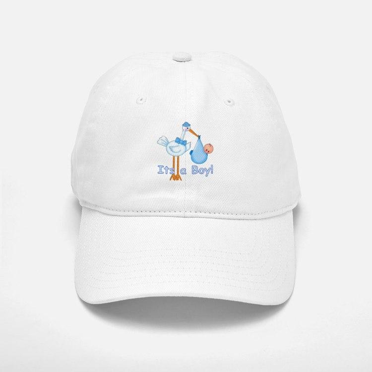 It's a Boy! Stork Baseball Baseball Cap