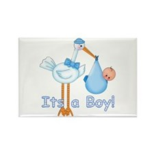 It's a Boy! Stork Rectangle Magnet
