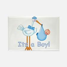 It's a Boy! Stork Rectangle Magnet