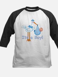 It's a Boy! Stork Kids Baseball Jersey