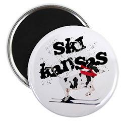 Ski Kansas! Magnet
