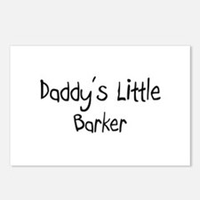 Daddy's Little Barker Postcards (Package of 8)