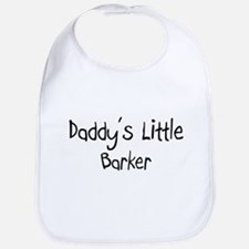 Daddy's Little Barker Bib