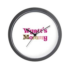 Wyatt's Mommy Wall Clock