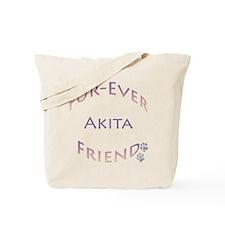 Akita Furever Tote Bag